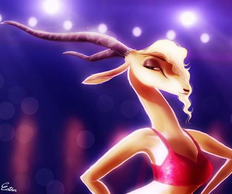 Fanfic / Fanfiction Zootopia: O Lobo solitário. - Capítulo 18 - O Grande Show da Gazelle!