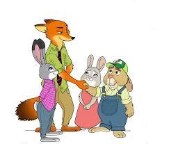 Fanfic / Fanfiction Zootopia amor colegial - Capítulo 11 - Conhecendo os pais de Judy.