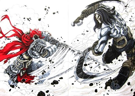 Fanfic / Fanfiction Amanhecer Sangrento - Capítulo 18 - A Batalha Mortal
