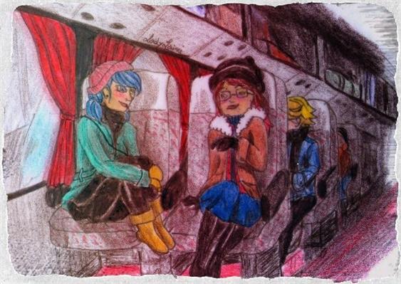 Fanfic / Fanfiction Amor Paralelo - Inverno, sentimentos congelados - Capítulo 9 - Dia da Excursâo