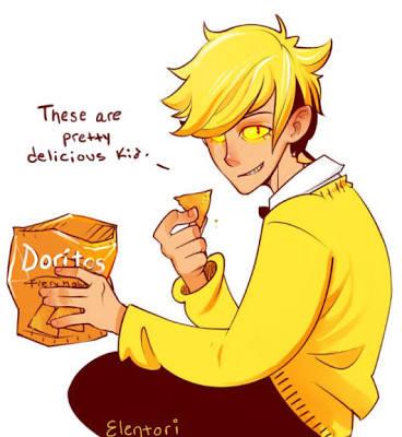 Fanfic / Fanfiction My BoyFriend is a Demon-(BillDip) - Capítulo 2 - Vivendo com um demônio viciado em doces salgados