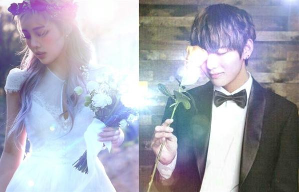 Fanfic / Fanfiction First love - BTS - Capítulo 19 - Pode beijar a noiva