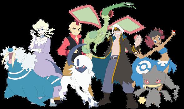 Fanfic / Fanfiction Pokémon XYZ:O Recomeço - Capítulo 83 - Tiago vs Elite 4:A batalha de campeões!!