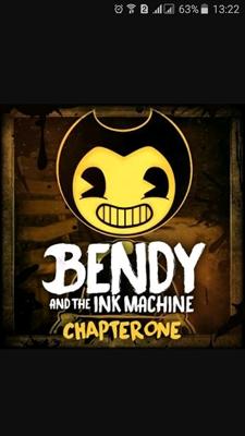 """Fanfic / Fanfiction A História de Bendy - Capítulo 2 - """" Movendo Pinturas """""""