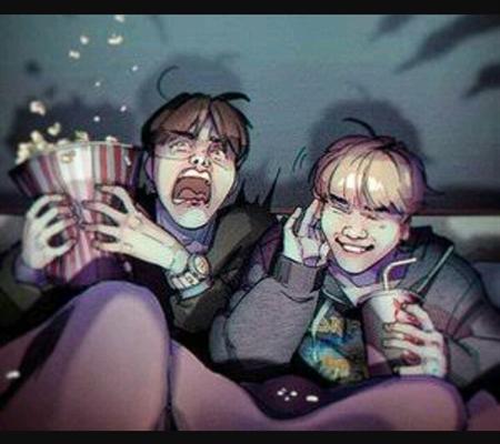 Fanfic / Fanfiction I need u boy... -Jikook,Namjin, Taeyoonseok ... - Capítulo 43 - Quase pegos no flagra....