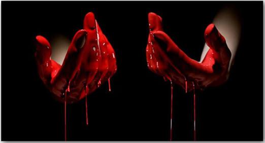 Fanfic / Fanfiction Sobre a Lua de Sangue - Capítulo 2 - Cobertas de Sangue
