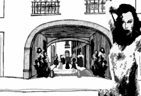Fanfic / Fanfiction Sombras do Rio Antigo - Capítulo 1 - A Feiticeira do Rio Antigo