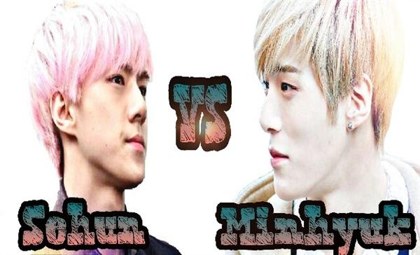 Fanfic / Fanfiction Hard Love (Chanbaek) - Capítulo 8 - Sehun vs Minhyuk
