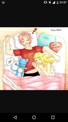 Fanfic / Fanfiction Natsu e Lucy-Mais que amigos! - Capítulo 6 - Primeira vez NaLu