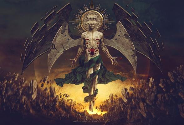 Fanfic / Fanfiction Anjo Caído: O anel Dourado - Capítulo 2 - Welcome to Coelum! - Part 1.