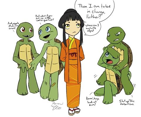 Fanfic / Fanfiction As tartarugas ninjas : Em busca das joias do infinito! - Capítulo 27 - Volteinotempo