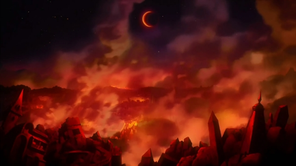 Fanfic / Fanfiction Cavaleiros do zodíaco- Universo caotico - Capítulo 433 - As chamas! O inicio do confronto!