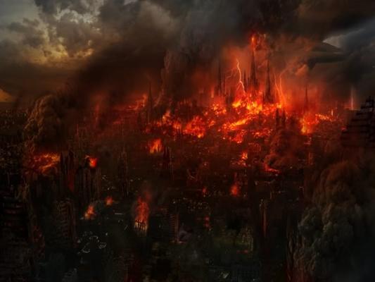 Fanfic / Fanfiction Cavaleiros do zodíaco- Universo caotico - Capítulo 434 - A batalha contra o fogo piedoso!