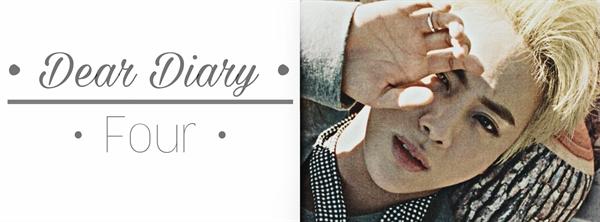 Fanfic / Fanfiction Dear Diary [Imagine Jin] - Capítulo 4 - • Four •