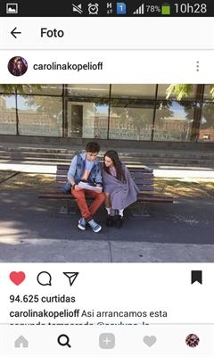 Fanfic / Fanfiction Instagram Sou Luna| Ficção - Capítulo 4 - @GasPerida