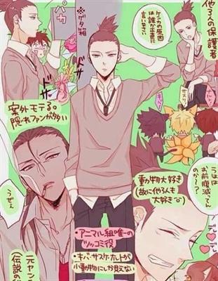 Fanfic / Fanfiction Meu mundo na escola... - Capítulo 6 - Serio ?- shikamaru...