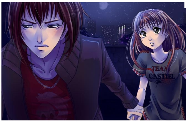 Fanfic / Fanfiction Meu vampiro protetor. - Capítulo 3 - Meu vampiro protetor--Capítulo 3
