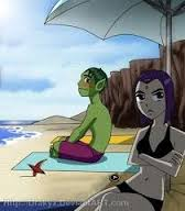 Fanfic / Fanfiction Mutano mudado - Capítulo 14 - Um dia na praia com a Estrela Negra (Parte 2)