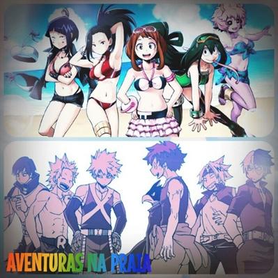 Fanfic / Fanfiction My Hero, Midoriya! - Capítulo 2 - Aventuras na Praia