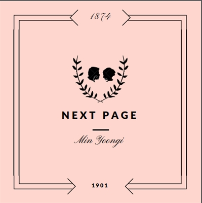 Fanfic / Fanfiction NEXT PAGE (Imagine Yoongi) (Imagine BTS) - Capítulo 1 - Chapter I - Prologue