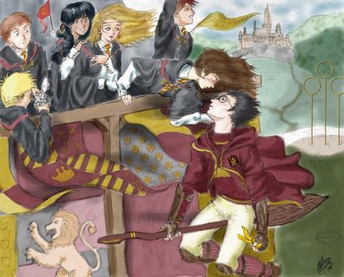 Fanfic / Fanfiction R U Mine? - Capítulo 13 - Harry James Granger Potter