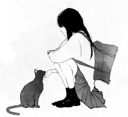 Fanfic / Fanfiction Rainbow Girl.(Yuri) - Capítulo 5 - O gato preto