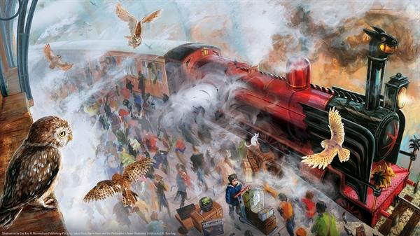 Fanfic / Fanfiction Reading the Future- Harry Potter e a Pedra Filosofal. - Capítulo 7 - Embarque na Plataforma Nove e Meia.