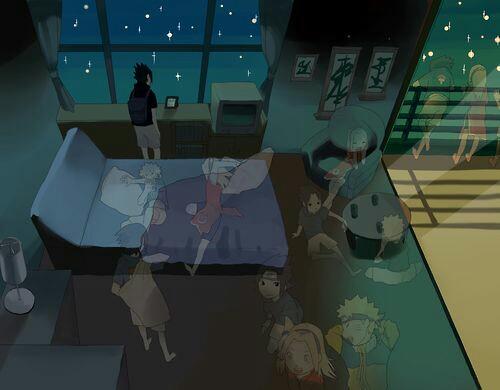 Fanfic / Fanfiction Sharingan - SasuSaku - Capítulo 1 - Capítulo I - Convite do som