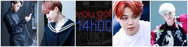 Fanfic / Fanfiction You got a message — Yoomin - Capítulo 1 - 14h00m