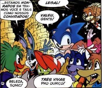 Fanfic / Fanfiction Sonic e Kuren aventura suprema - Capítulo 26 - Clube do sonic