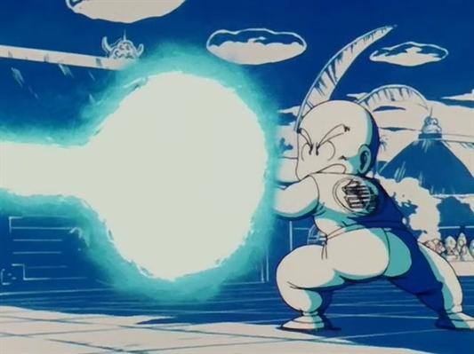 Fanfic / Fanfiction Dragon ball LB - Capítulo 4 - Kuririn vs Arono