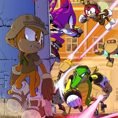 Fanfic / Fanfiction Sonic Forces - Quebrando Limites - Capítulo 1 - Rookie o novato!