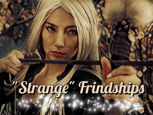 "Fanfic / Fanfiction O Encanto do Livro - Capítulo 4 - ""Strange"" Friendships"