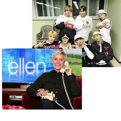 Fanfic / Fanfiction Eu amava ele, ele amava todas - Kim Taehyung - Capítulo 39 - The Ellen DeGeneres Show