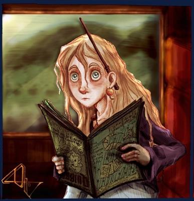 Fanfic / Fanfiction Hogwarts: 1995 Lendo Harry Potter e a Ordem da Fênix - Capítulo 15 - Luna Lovegood
