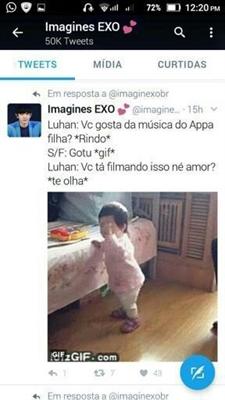 Fanfic / Fanfiction Imagines bts , got7 e exo - Capítulo 72 - Luhan