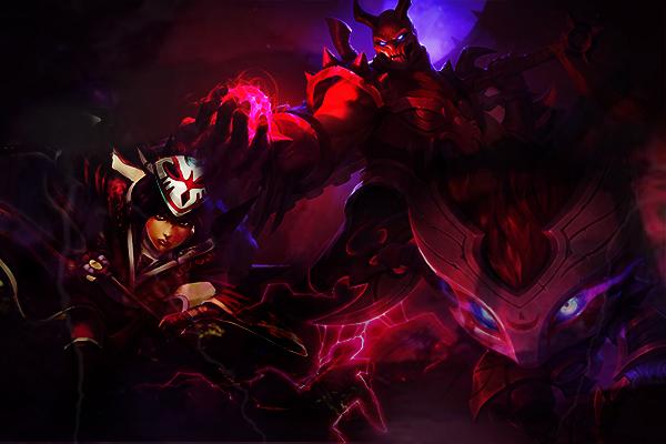 Fanfic / Fanfiction Origens de Runeterra: O ninja da penumbra - Capítulo 8 - A lua sangrenta