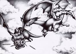 Fanfic / Fanfiction Pokemon (Interativa) - Capítulo 13 - Rivalidade entre Dragões