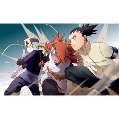 Fanfic / Fanfiction ShikaJin - Um amor entre Inojin e Shikadai - Capítulo 11 - O Vale da morte e a luta por pergaminhos