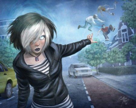 Fanfic / Fanfiction A filha da lua - Capítulo 23 - Tracy a telecinetica