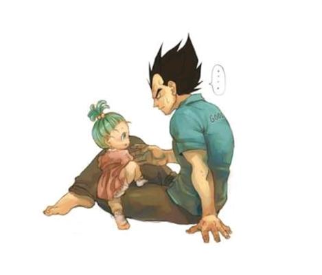 Fanfic / Fanfiction Bra - A filha do orgulhoso príncipe Saiyajin. - Capítulo 1 - Bra está doente!