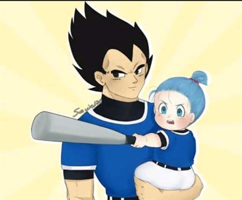 Fanfic / Fanfiction Bra - A filha do orgulhoso príncipe Saiyajin. - Capítulo 5 - A revanche do beisebol - Part. 1