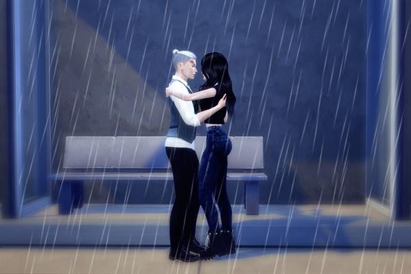 Fanfic / Fanfiction Ghost Love Score - Lysandre (Long Fic) Editando - Capítulo 67 - Dançando na chuva