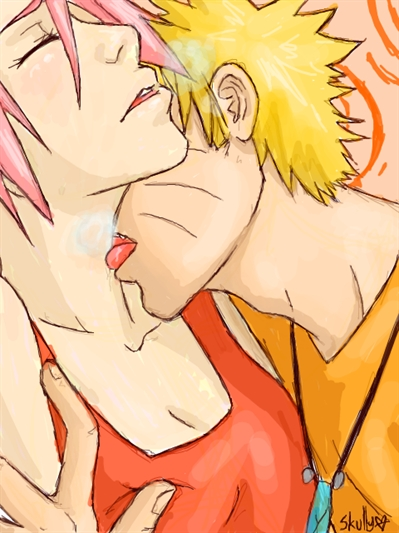 Fanfic / Fanfiction A cerejeira e o sol laranjado (Narusaku) - Capítulo 8 - Amor correspondido