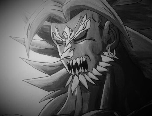 Fanfic / Fanfiction Goku x Superman - Capítulo 4 - A terrível Fusão Broly Apocalíptico
