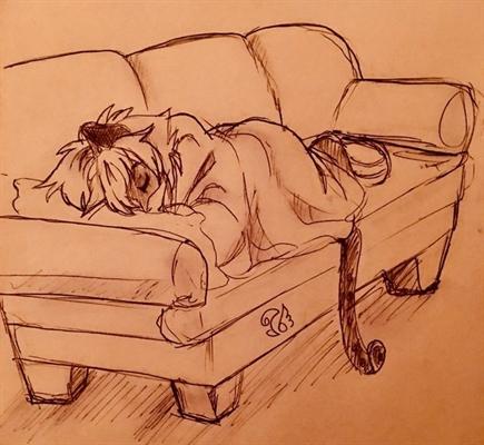 Fanfic / Fanfiction Instagram - Capítulo 4 - Gatinho dorminhoco - Mari