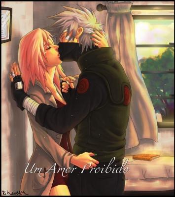 Fanfic / Fanfiction (Kakasaku) Akai ito, Nosso destino. - Capítulo 6 - Olhos ônix na multidão e cabelo prateado na chuva.