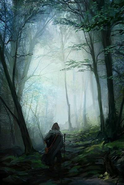 Fanfic / Fanfiction O Segredo Da Lenda - Capítulo 4 - A Floresta