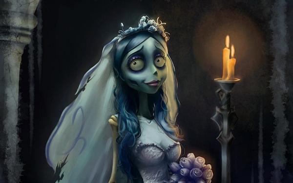 Fanfic / Fanfiction Emily, a noiva cadáver - Capítulo 11 - Cabelo azul
