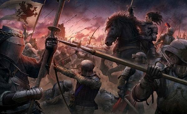 Fanfic / Fanfiction God's wish of war(Interativa) - Capítulo 42 - Queda de um rei